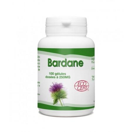 Bardane bio 100 gélules dosée à 250 mg