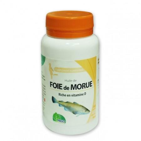 Huile de foie de Morue MGD (140 gelules)
