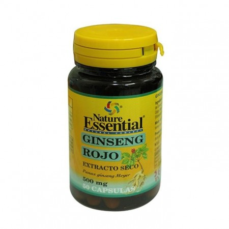 Nature Essential GINSENG ROJO 500 mg - 50 Capsules