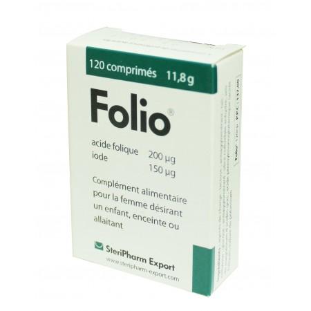 Folio acide folique et iode