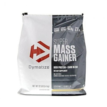 Super Mass Gainer Dymatize (5,400 kg )