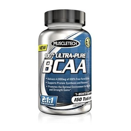 100% Ultra Pure BCAA MuscleTech (150 caps )