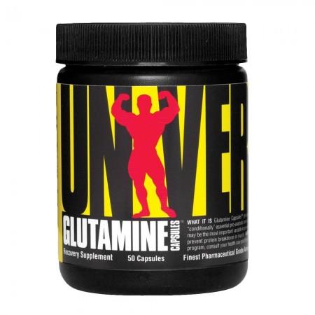 Glutamine capsules - 50 capsules - Universal nutrition