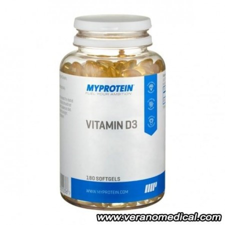 Vitamine D3, 180 gelules