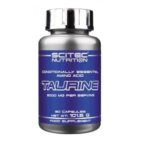 TAURINE 300mg - 90 caps -SCITEC NUTRITION