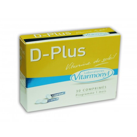 D-plus vitamine du soleil vitarmonyl