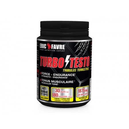 ERIC FAVRE Turbo Testo (ACTIVE LA PRODUCTION DE TESTOSTÉRONE)
