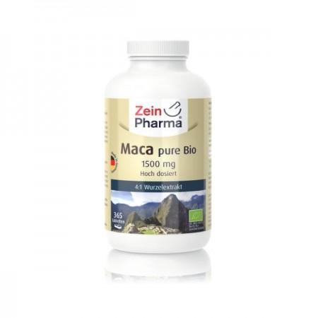 Maca bio pure 1500 mg (365 Comprimée)