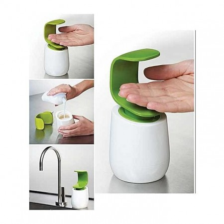 Bouteille de savon à une main C-Pump - blanc