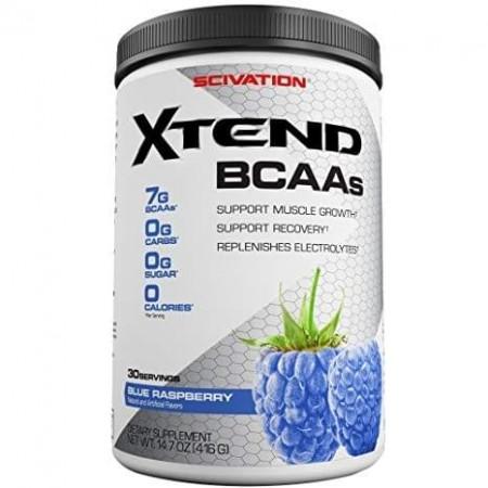 SCIVATION XTEND BCAAs 30 servings ( Blue raspberry)