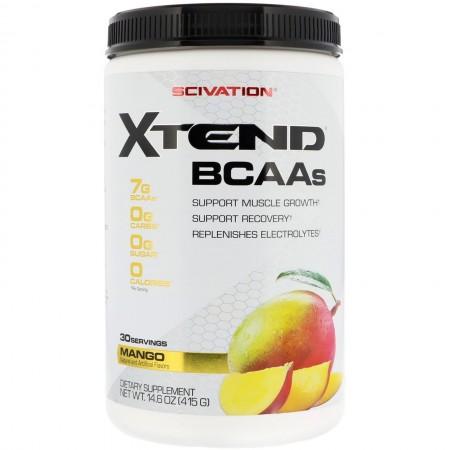 SCIVATION XTEND BCAAs 30 servings (Mango)