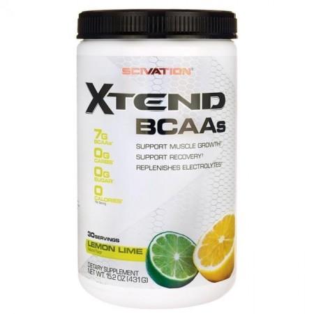 SCIVATION XTEND BCAAs 30 servings (citron vert)