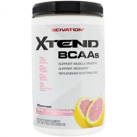 SCIVATION XTEND BCAAs 30 servings (pink lemonade)