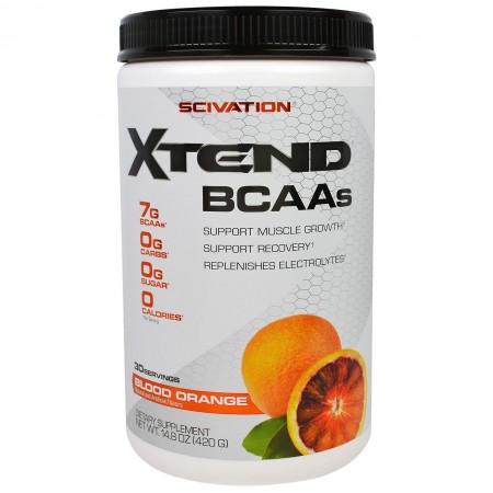 SCIVATION XTEND BCAAs 30 servings (BLOOD ORANGE)