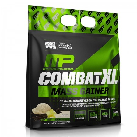 Combat XL, poudre de gain de masse, vanille