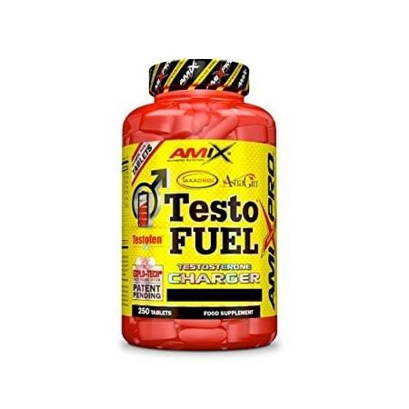 Testo fuel d'amixpro 250 tablets