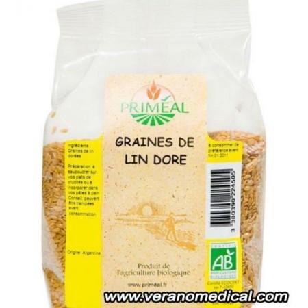 Graines de lin dore 250 gr