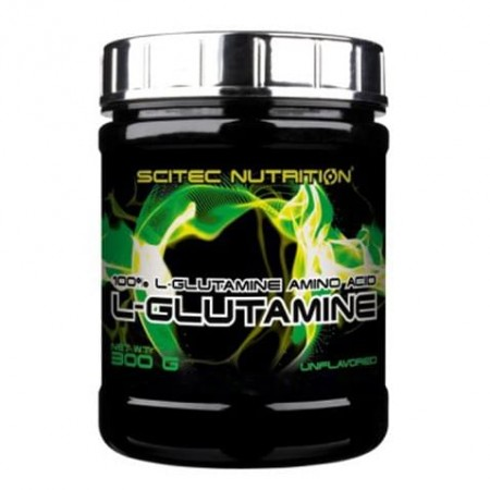 100% L-glutamine 300g de dosage 6000mg