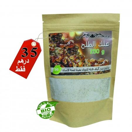 Gomme arabique 250g  (علك الطلح)
