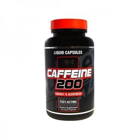 Caffeine 200 60 liquide capsules de Nutrex