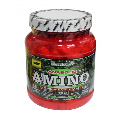 Muscle Core Anabolic Amino 250 tablets