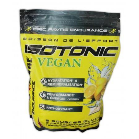ISOTONIC VEGAN 750g au saveur de citron
