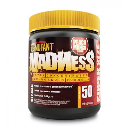 madness pre-workout 375g