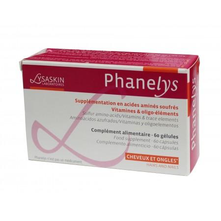 phanelys cheveux et ongles - 60 gélules