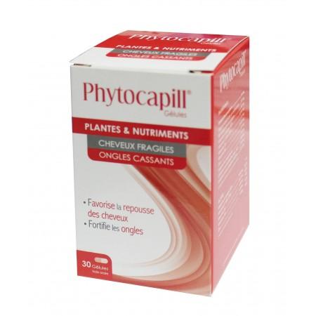 Phytocapill pour cheveux fragile et ongles cassant 30 gélules