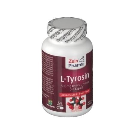 L-Tyrosin 120 capsule dosée à 500mg