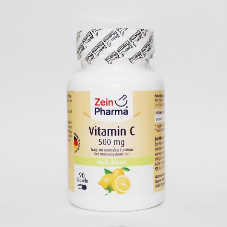 Vitamin C 500mg Zein pharma