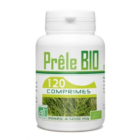Prêle 120 comprimes dosés à 400 mg gph