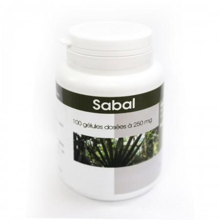 Sabal 100 gélules dosées à 250 mg