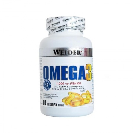 Omega 3 1000 mg weider 90 gélules
