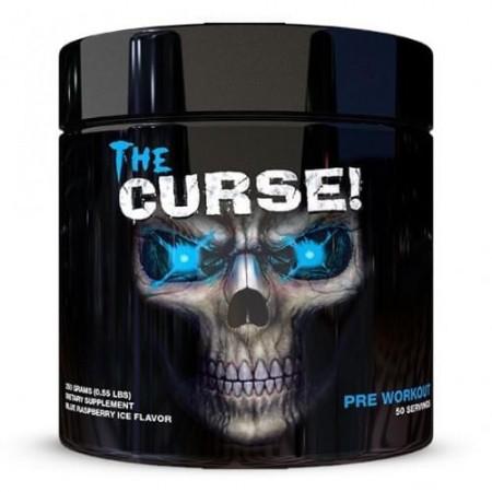 the curse  pre-workout 250 g au goût de framboise