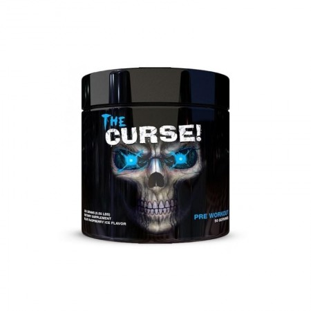 the curse pre-workout 250 g au goût de framboise