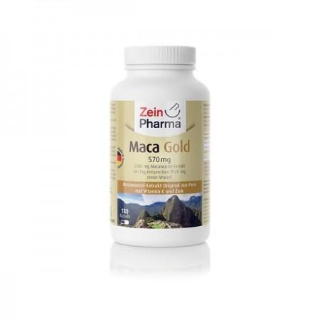 Maca Gold 180 capsule de 570mg de zein pharma