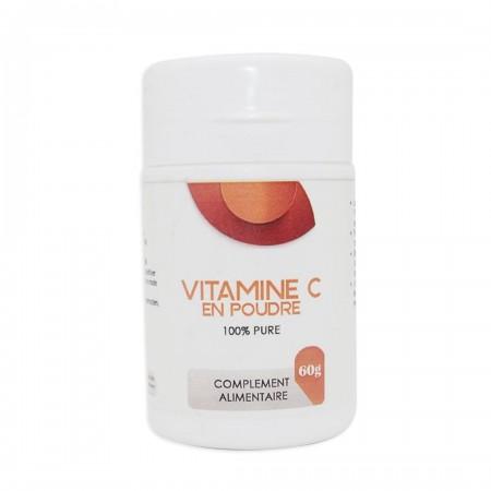 Vitamine C en poudre 100% 60g