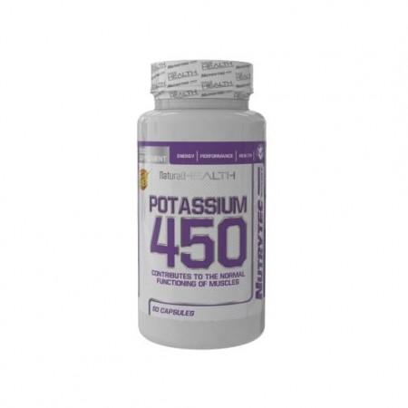 Potassium 450 mg 60 capsules de naturalhealth