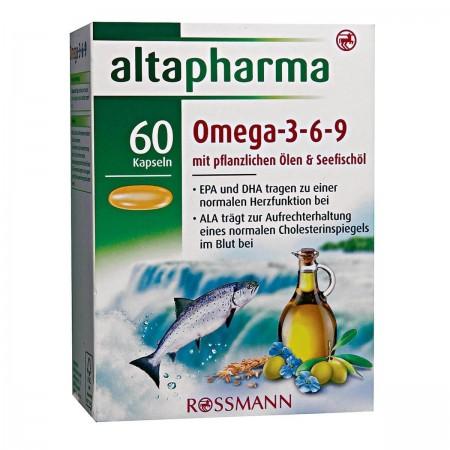 Altapharma omega 3-6-9 60 gélules