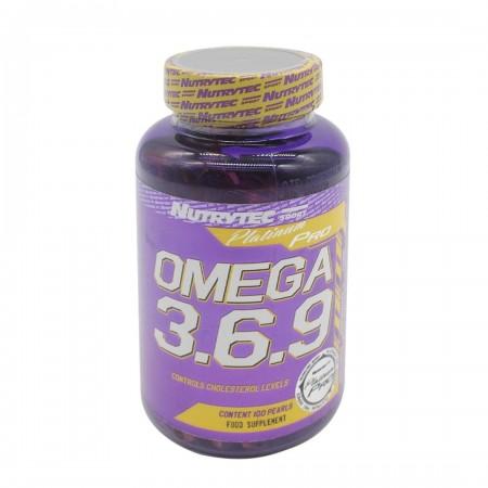 omega 3-6-9 100 gélules nutrytec sport
