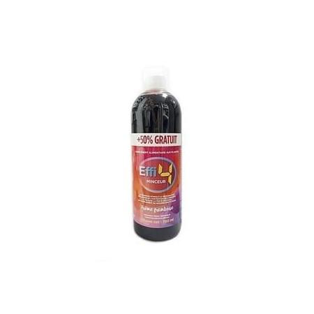 effi 4 jours minceur express 50% offerte arôme framboise 750 ml