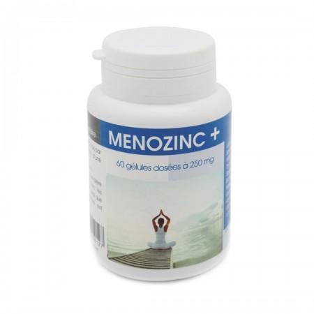 menoziinc + 60 gélules dosées à 250 mg
