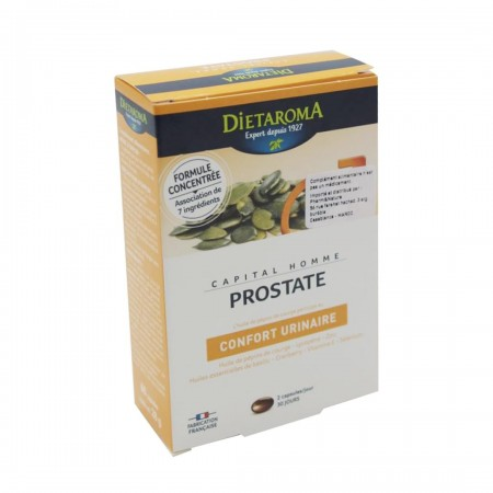 Capital homme prostate 60 capsules