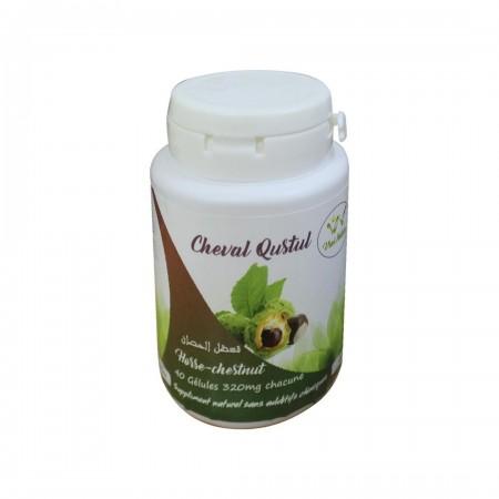 Cheval Qustul 320 mg 40 gélules