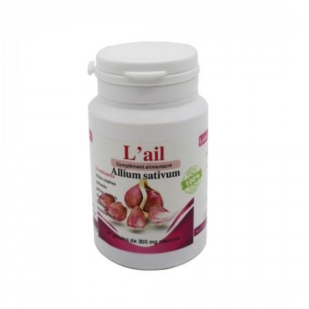L'ail allium sativum 40 gélules de 300mg