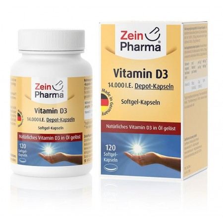 Vitamin D3 14.000 IE 120 Softgels