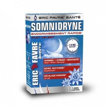 ERIC FAVRE SOMNIDRYNE 15 COMPRIMES (Stress , Sommeil ,Décalage Horaire)