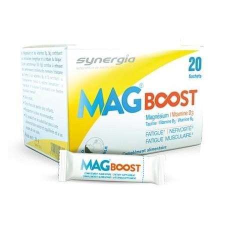 MagBoost 20 sachets (Manque du Magnésium)