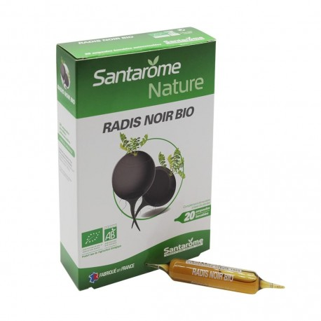 Radis noir Bio santarome naturel